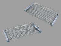 Сушка для посуды // Rejs / для верхних секций 2-х уровневая / B= 800 мм / белый / нет рама 7326200090