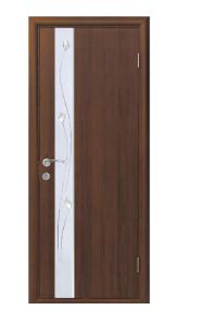 Дверь межкомнатная Зеркало 3 ПВХ Омис