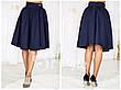 """Стильная женская юбка средней длины 052 """"Габардин Миди"""" в расцветках, фото 4"""