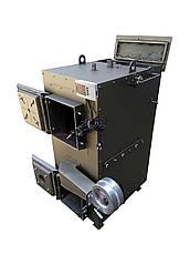 Двухконтурный пиролизный котел длительного горения 25 кВт, фото 3