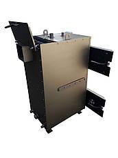 Двухконтурный пиролизный котел длительного горения 25 кВт, фото 2