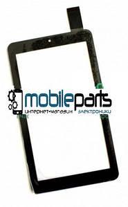 Оригинальный Сенсор (Тачскрин) для планшета Digital 2 Lanix 7 ( HS1285 V071) (184*104) (Черный)