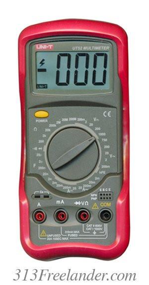 Мультиметр цифровой UNI-T UT52. Только ОПТОМ! В наличии!Лучшая цена! - Plus в Одессе