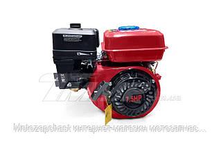 Двигатель дизель 178F  d=25 mm под шлиц (+стартер)