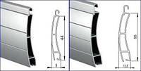Профиль алюминиевый роллетный РАЕ-42мм, фото 1
