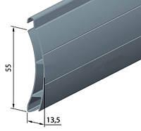 Профиль алюминиевый роллетный РАЕ-55мм, фото 1