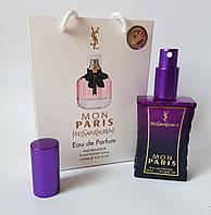 Мини парфюм Yves Saint Laurent Mon Paris в подарочной упаковке 50 мл