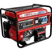 Генератор Tiger TG6500АЕ  (5 кВт, бензин, электростартер)