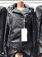 Женская куртка косуха ЭКО кожа 42-48р в ассортименте