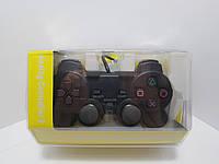 Игровой джойстик проводной 1.8 м анти-шок геймпад Joypad для PlayStation 2 PS2