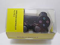Джойстик беспроводной анти-шок для Sony PS2. Только оптом!  В наличии