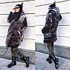 """Стильная тёплая плюшевая куртка на синтепоне 896 """"Зефирка Бархат"""" в расцветках"""