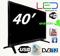 СМАРТ ТЕЛЕВИЗОР LED BACKLIGHT TV L 40 SMART TV, 1920Х1080,RAM-1GB, 8GB, T2