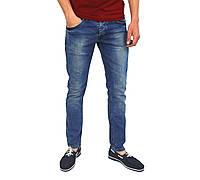 Синие мужские джинсы зауженные DSQUARED, фото 1
