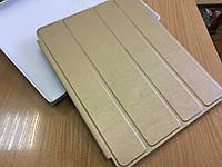 Чехол-книжка для ipad2/3/4.Золотой. Smart Case(полный)