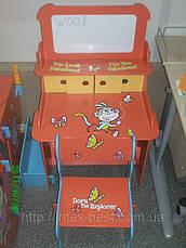 Детская парта со стульчиком и магнитной доской Bambi W 001, фото 3
