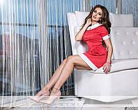 """Женственное коктейльное платье с короткой юбкой """"Kakvskazke"""" 2P/NR-1352"""
