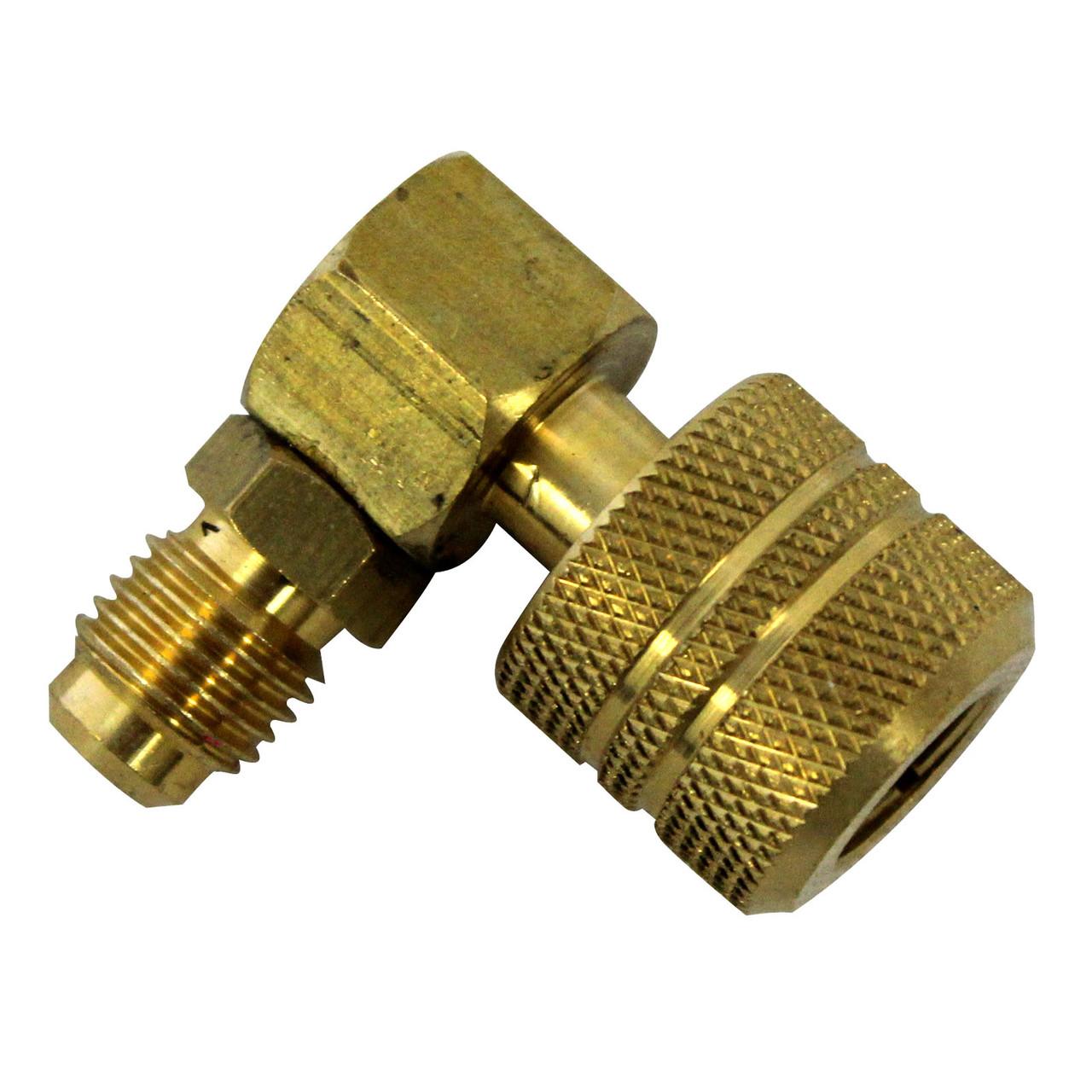 Быстросъемный клапан для сервисного вентиля 1/4 - 1/4 (Mastercool, США)