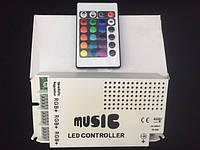 9 канальный музыка ик-контроллер RGB аудио управление звуком для RGB из светодиодов полосы света