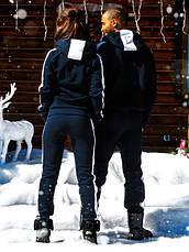 """Тёплый мужской спортивный костюм на байке 836 """"PUMA"""" в расцветках, фото 2"""