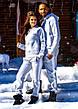 """Тёплый мужской спортивный костюм на байке 836 """"PUMA"""" в расцветках, фото 4"""