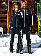 """Тёплый мужской спортивный костюм на байке 836 """"PUMA"""" в расцветках, фото 5"""