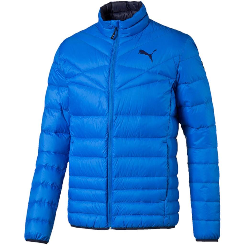 Куртка спортивная мужская Puma Active 600 838646 13 (синяя, зимняя,  пуховик, легкая 8248b47a47e