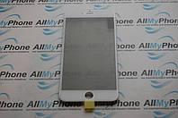Стекло корпуса для Apple iPhone 6 Plus  с рамкой / OCA пленкой / поляризационной пленкой / белый
