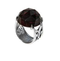 "Кольцо ""Гаруда"" покрытое серебром (h32330kk)"