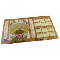Підклад ПВХ на стіл для дитячої творчості 585х380 (Цена за 1 шт.) 2802-TM