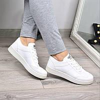 Кроссовки женские Blame белые 3578, полуботинки женские, обувь дропшиппинг