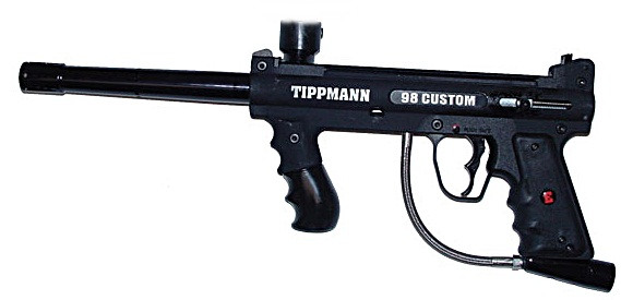 Маркер для пейнтбола Tippmann 98c ACT E-grip