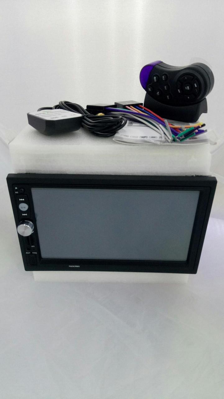 Автомагнитола Pioneer 7023 CRBG GPS/ FM/ Bluetooth/ MP5 + USB + пульт на руль!!!