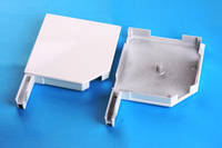 Боковые крышки защитной роллеты 205\205мм, фото 1