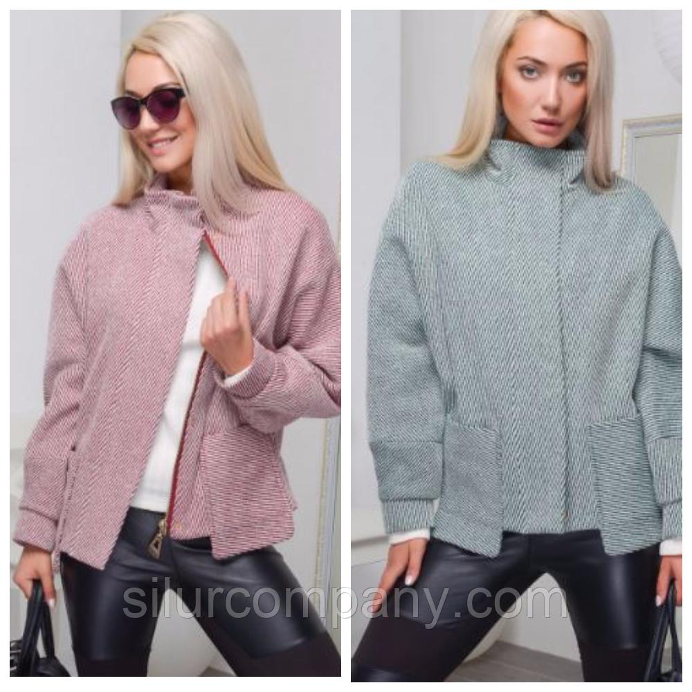 d3aed4f6337 Короткое женское пальто-пиджак
