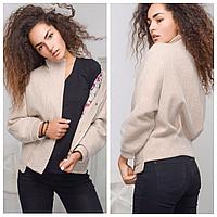 Укороченное пальто женское   Демисезонное женское пальто осень-весна