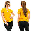 """Элегантная женская блузка на резинке в больших размерах 5008 """"Креп Капелька Подвеска"""" в расцветках, фото 4"""