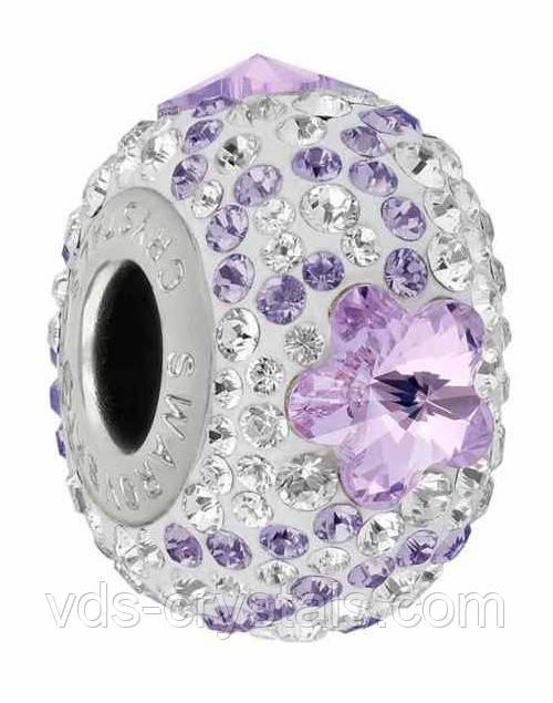 Шарм для браслета Пандора от Swarovski 82143 Violet