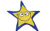 """Дизайнерская декоративная подушка """"Яркая звездочка"""". Любое сочетание цветов по Вашему желанию!"""