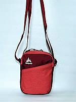 Мужская спортивная стильная повседневная сумка на плечо ONE POLAR 5693 розовая