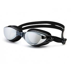 Проффесиональные очки для ныряния- №2555, Цвет черный