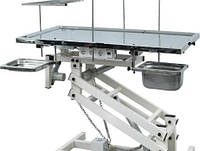 Хирургический стол с электроподъемником и подогревом для животных
