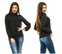 Женская блузка 243 черная СП