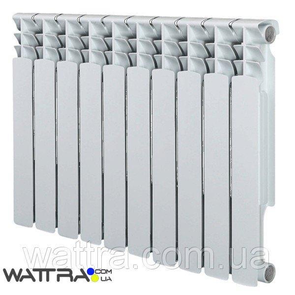 Радиатор алюминиевый GRUNHELM - GR500-100AL (10 секций) (1900 Вт)(батарея отопления)