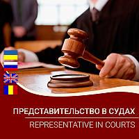 Представительство в судах / Representative in courts
