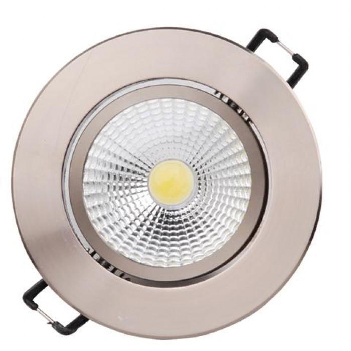 Точечный светильник LILYA-3 (HL698LE) 3W 4200K Белый, Матовый хром HOROZ ELECTRIC