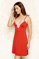Ночная сорочка 46 красный