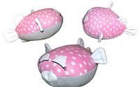 """Прикольная дизайнерская подушка """"Рыбка моя"""". Любое сочетание цветов по Вашему вкусу! Подушка - игрушка декор."""