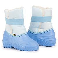 Детские сапоги SNOWY голубые