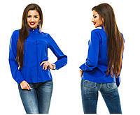 Женская блузка 243 электрик СП